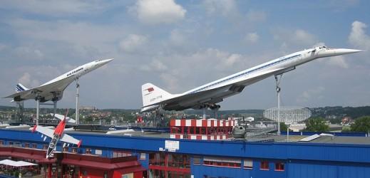 Concorde & Tupolev TU-144 at Sinheim Auto & Technik Museum